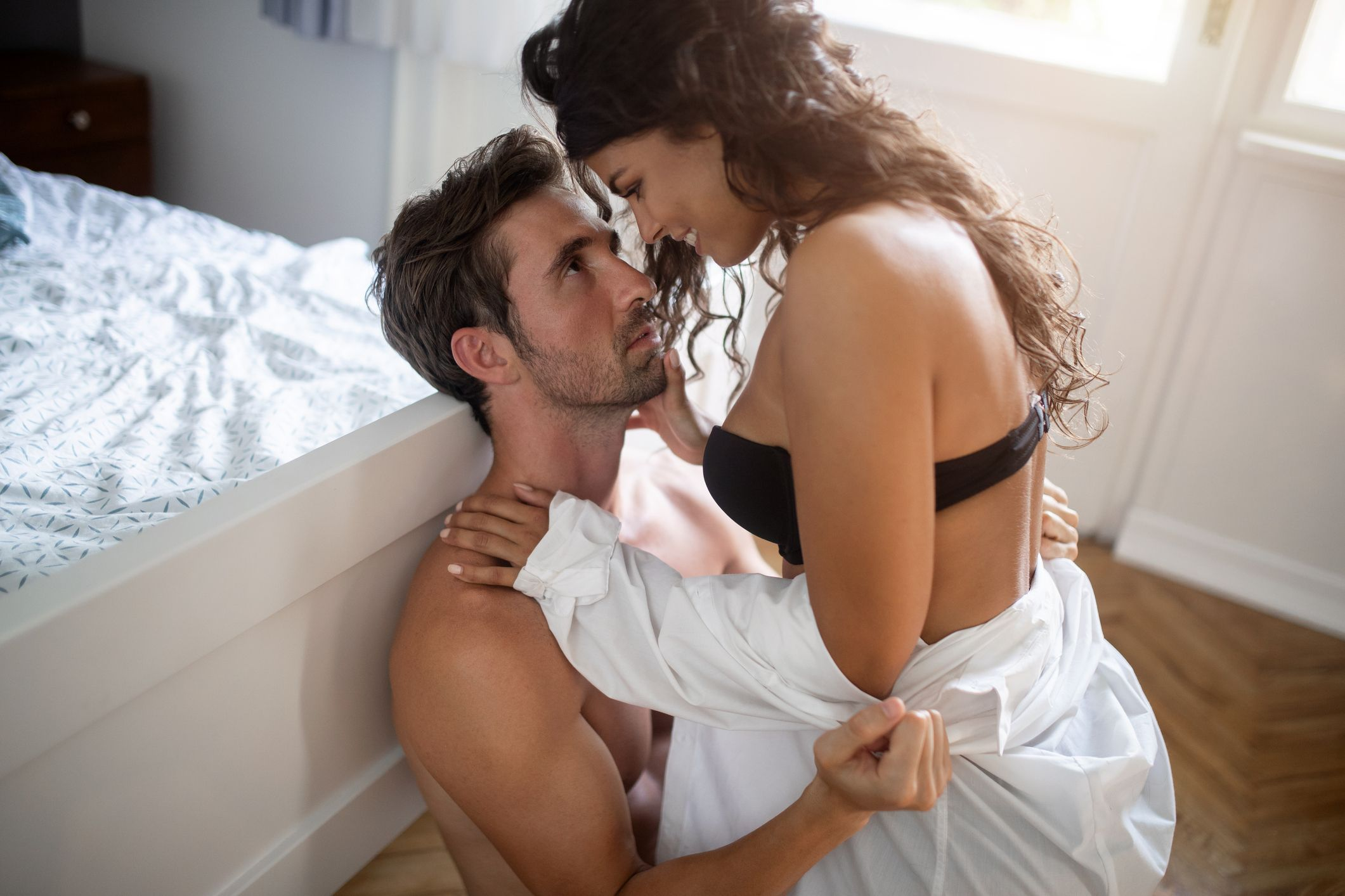 Sex with young woman