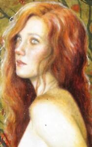 Redheads nude in the forest