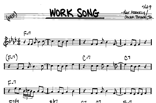 Work song download