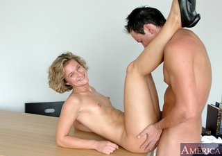 Mature small breasted fuck