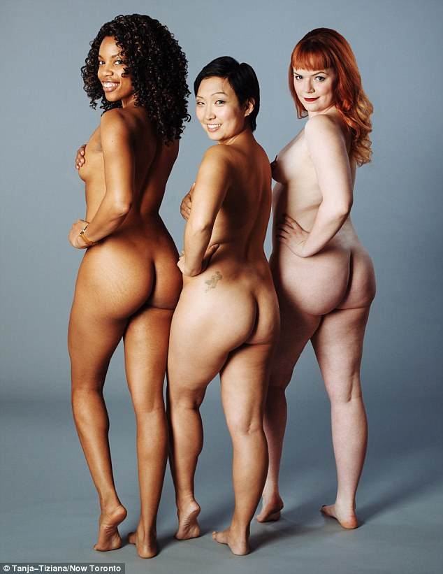 Group of nude people photos